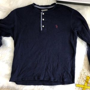 U.S Polo ASSN long sleeve shirt Size M